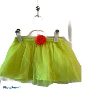 KIDS 2 for $20 - Yellow tulle skirt size 4T